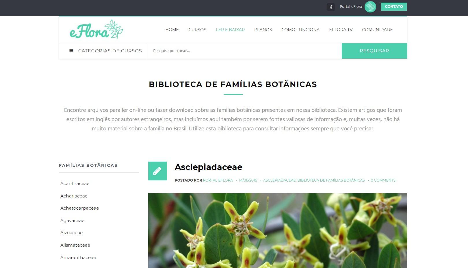 Biblioteca botânica online